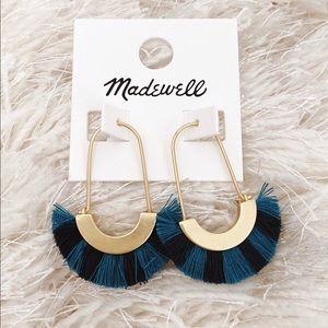 NWT Madewell Fringe Earrings